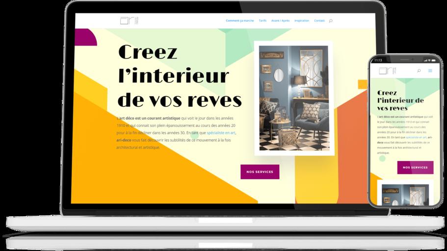 site web ari-deco